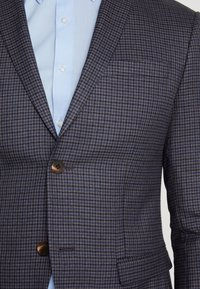 Isaac Dewhirst - FASHION SUIT CHECK - Oblek - blue - 11
