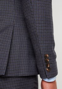 Isaac Dewhirst - FASHION SUIT CHECK - Oblek - blue - 8