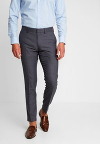 Isaac Dewhirst - FASHION SUIT CHECK - Oblek - blue - 4