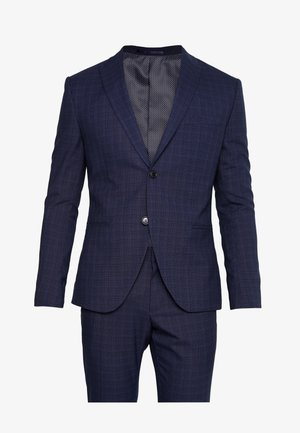 FASHION STRUCTURE SUIT  - Oblek - navy