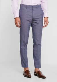 Isaac Dewhirst - FASHION STRUCTURE SUIT - Suit - blue - 4