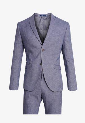 FASHION STRUCTURE SUIT - Oblek - blue