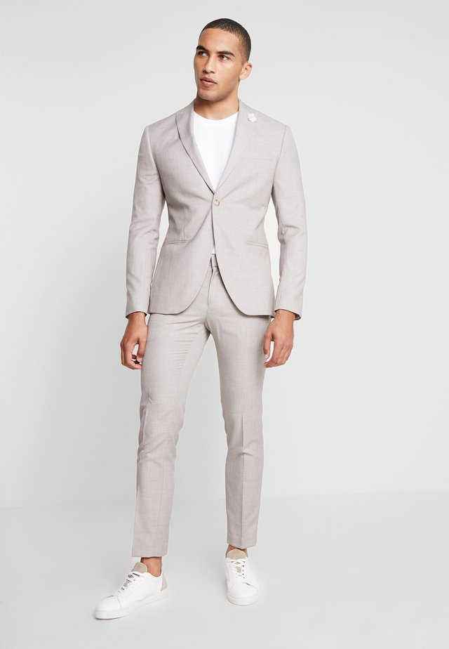 WEDDING SUIT LIGHT NEUTRAL - Kostym - beige