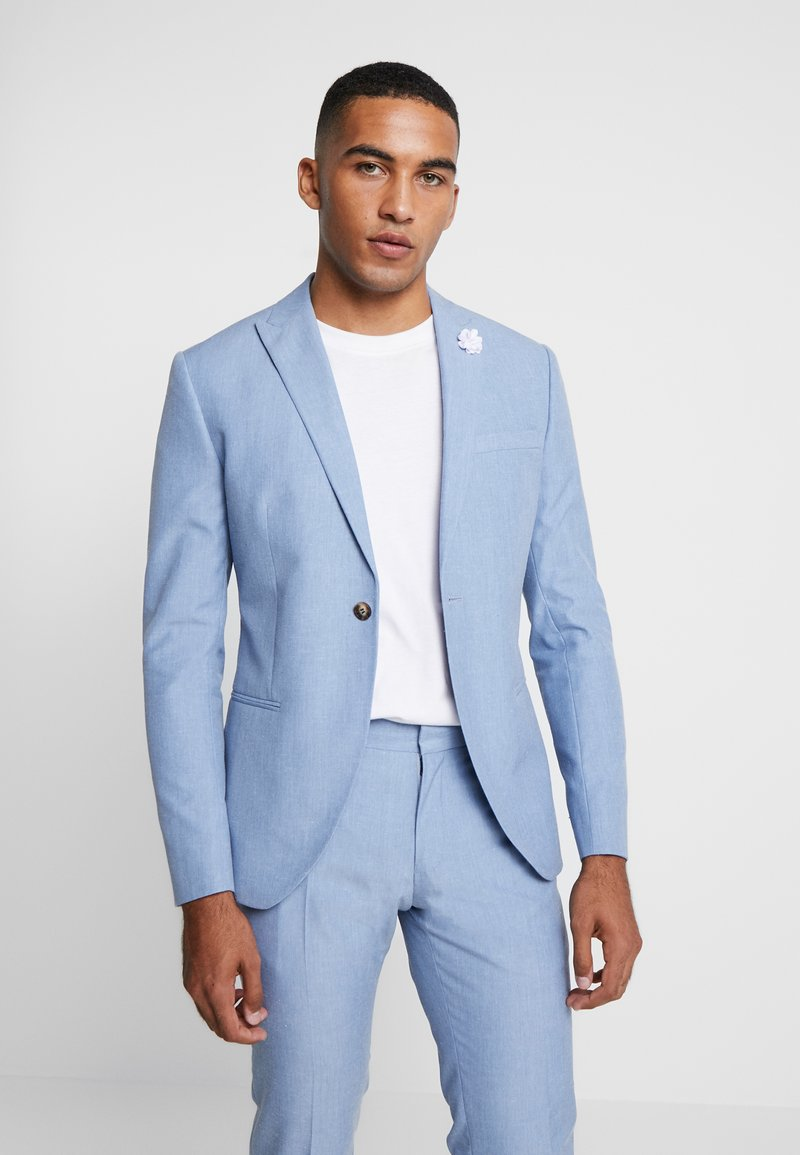 Isaac Dewhirst - WEDDING SUIT - Completo - light blue