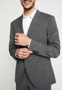 Isaac Dewhirst - PUPPYTOOTH SUIT - Garnitur - dark grey - 8