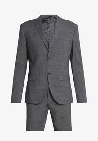 Isaac Dewhirst - PUPPYTOOTH SUIT - Garnitur - dark grey - 10