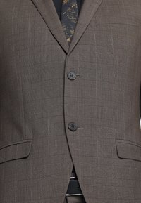Isaac Dewhirst - CHECK SUIT - Completo - brown - 8