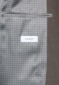 Isaac Dewhirst - CHECK SUIT - Completo - brown - 7