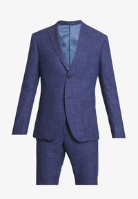 Isaac Dewhirst - TEXTURE SUIT - Oblek - blue - 7