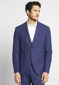 Isaac Dewhirst - TEXTURE SUIT - Oblek - blue - 6