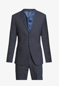 Isaac Dewhirst - CHECK SUIT - Completo - dark blue - 9