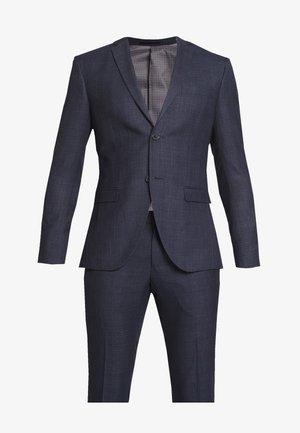CHECK SUIT - Oblek - dark blue