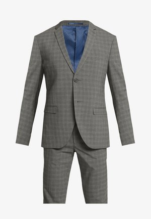CHECK SUIT - Suit - grey