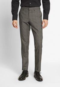 Isaac Dewhirst - TWIST CHECK SUIT - Oblek - grey - 4