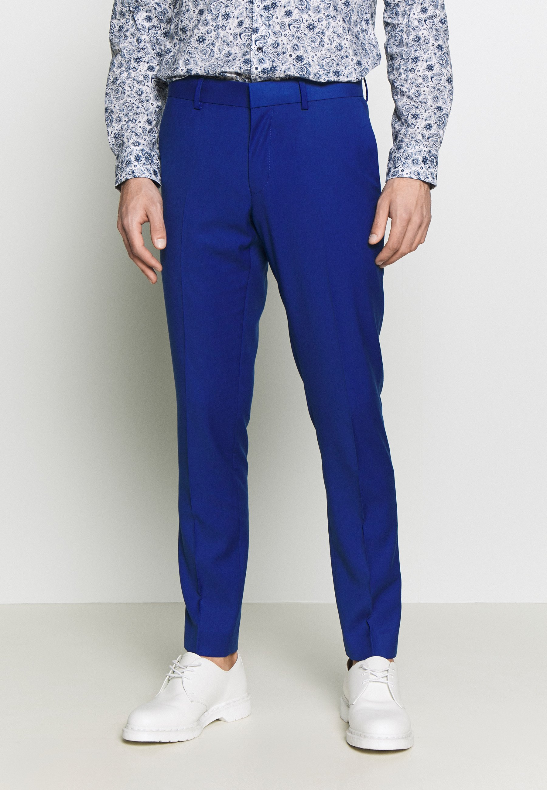 Isaac Dewhirst Pop Suit - Kostym Royal Blue