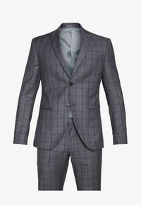 Isaac Dewhirst - CHECK SUIT - Oblek - grey - 11