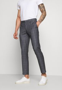 Isaac Dewhirst - CHECK SUIT - Suit - grey - 4