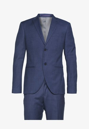 BLUE TEXTURE SUIT - Oblek - blue