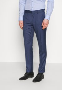 Isaac Dewhirst - BLUE TEXTURE SUIT - Completo - blue - 4