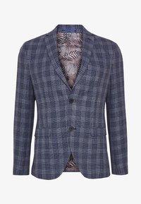 Isaac Dewhirst - CHECKED - Blazer - blue - 5