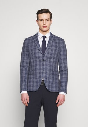 CHECKED - Blazer - blue
