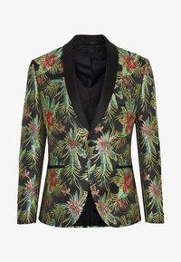 Isaac Dewhirst - FLORAL - Blazer jacket - black - 5