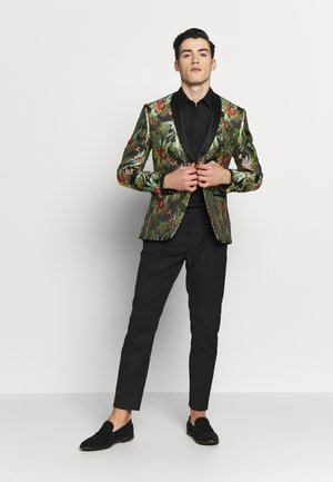 FLORAL - Blazer jacket - black