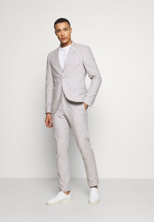 PLAIN WEDDING - Kostym - grey