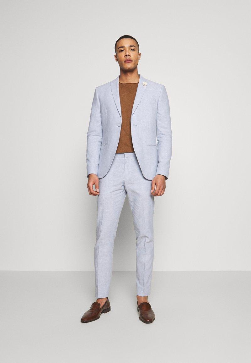 Isaac Dewhirst - PLAIN WEDDING - Garnitur - blue