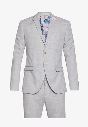 CHECK WEDDING SUIT - Jakkesæt - grey