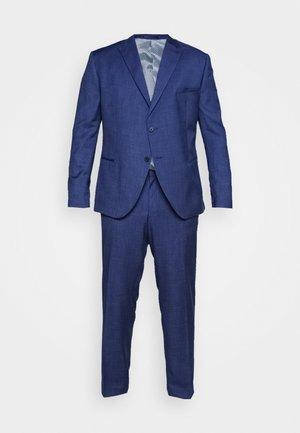 TEXTURE SUIT PLUS - Completo - blue