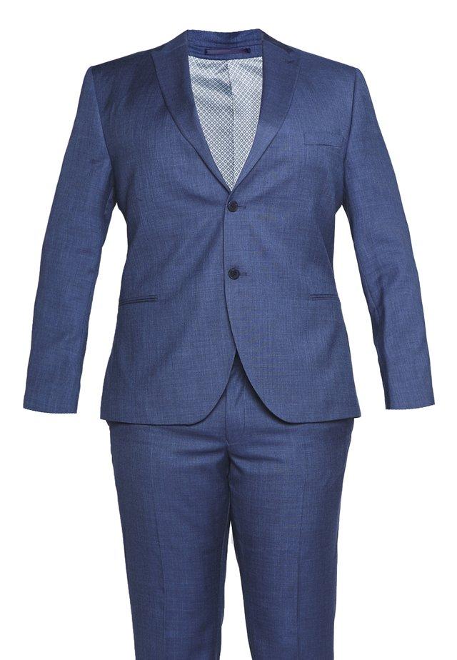 TEXTURE SUIT PLUS - Suit - blue
