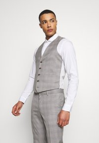 Isaac Dewhirst - CHECK 3 PIECES SUIT - Oblek - grey - 6
