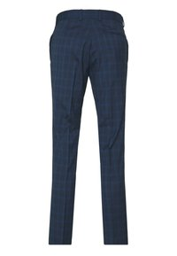 Isaac Dewhirst - RECYCLED CHECK - Garnitur - dark blue - 3