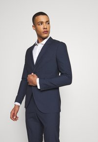 Isaac Dewhirst - RECYCLED NAVY TEXTURE - Completo - dark blue - 2