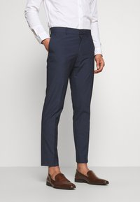 Isaac Dewhirst - RECYCLED NAVY TEXTURE - Suit - dark blue - 4