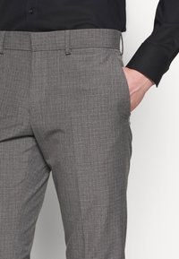 Isaac Dewhirst - RECYCLED MID TEXTURE - Traje - grey - 6