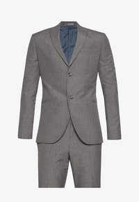 Isaac Dewhirst - RECYCLED MID TEXTURE - Traje - grey - 8