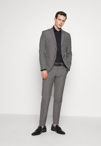 Isaac Dewhirst - RECYCLED MID TEXTURE - Traje - grey - 1