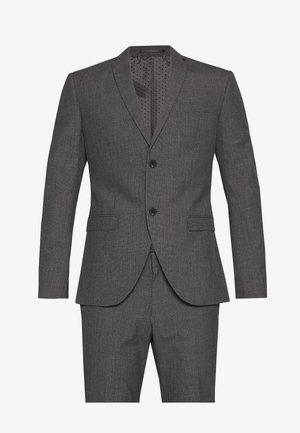 RECYCLED CHARCOAL - Suit - anthracite
