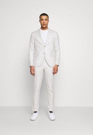RECYCLED ECRU TEXTURE - Suit - beige