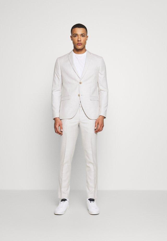 RECYCLED ECRU TEXTURE - Kostuum - beige