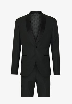 RECYCLED TUX SLIM FIT SUIT - Suit - black