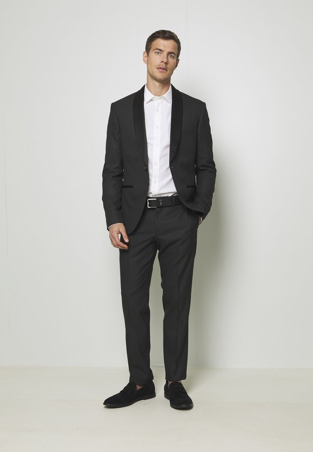 RECYCLED TUX SLIM FIT - Oblek - black