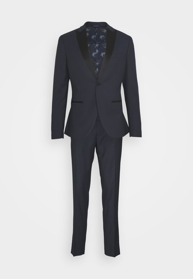 TEXTURED TUX - Anzug - dark blue