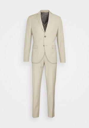 PLAIN LIGHT SUIT - Suit - light brown
