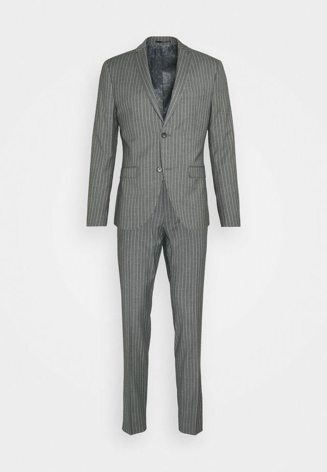 BOLD STRIPE SUIT - Kostym - grey