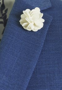 Isaac Dewhirst - WEDDING COLLECTION - SLIM FIT SUIT - Garnitur - blue - 4