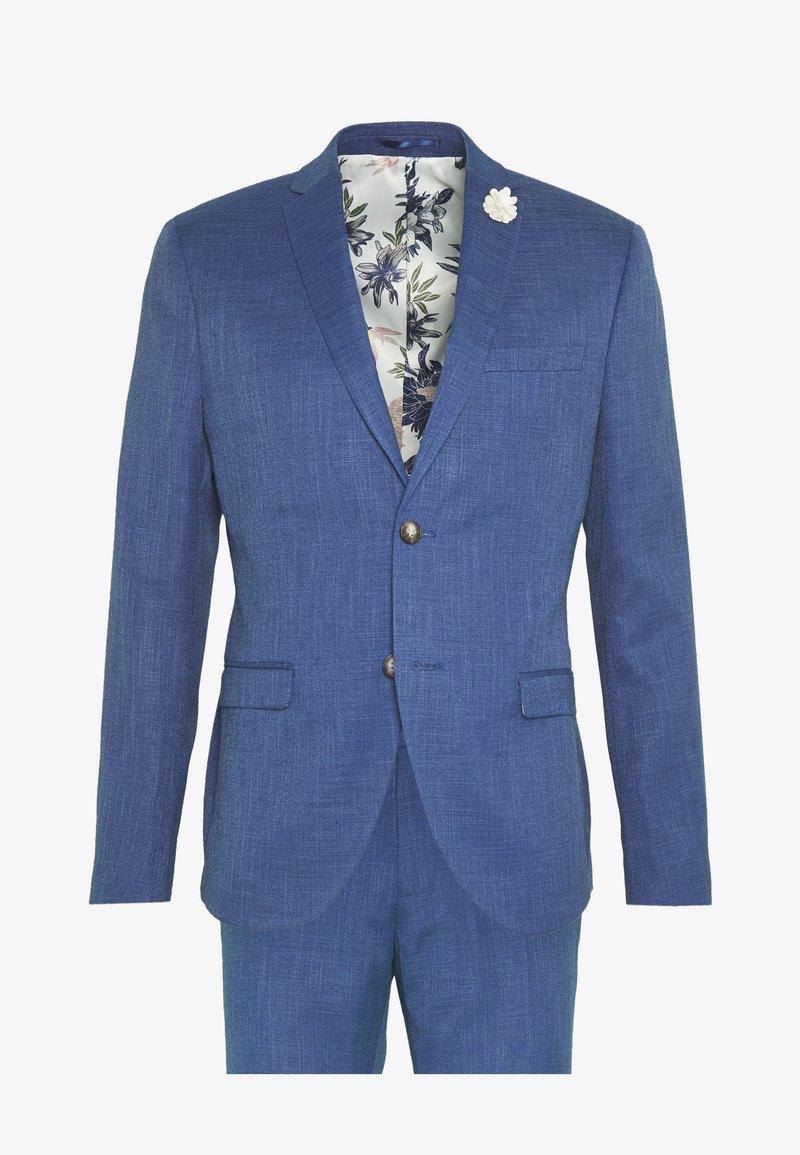 Isaac Dewhirst - WEDDING COLLECTION - SLIM FIT SUIT - Garnitur - blue