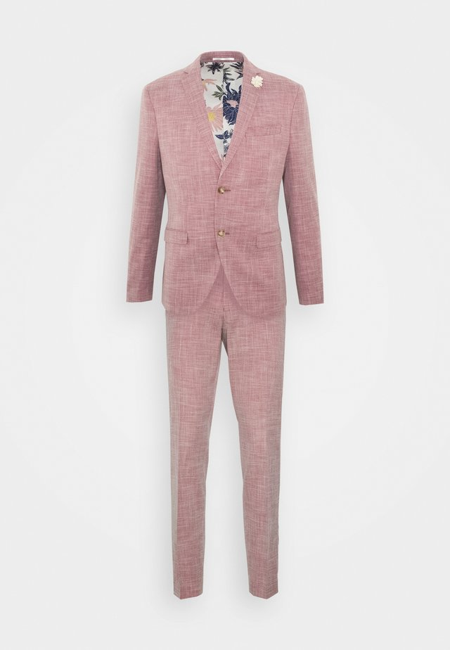 WEDDING COLLECTION - SLIM FIT SUIT - Anzug - pink